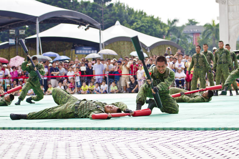 Download Taiwan Special Forces Military Exhibition Editorial Stock Image - Image: 31765809