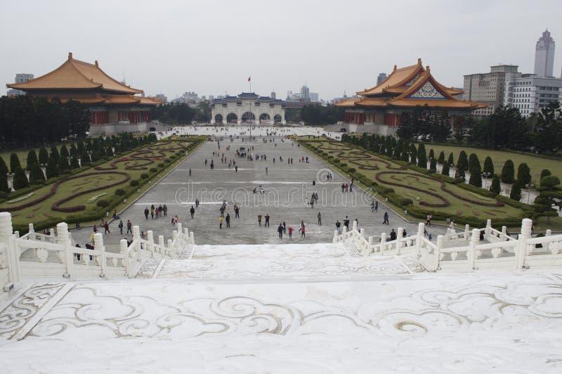 Taiwan. Taipei, city center, travel, historical monument, chinese rebel leader, Chiang Kai Shek stock photography