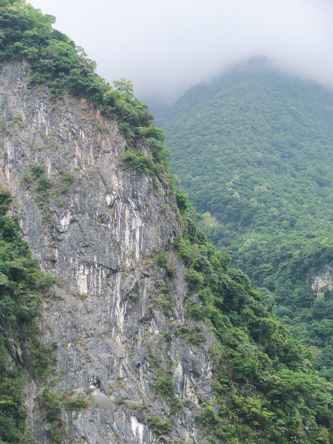 Taiwan Tropische Mountainscape stock afbeeldingen