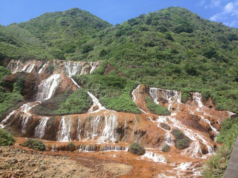 Taiwan vattenfall arkivbild