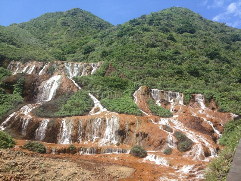 Taiwan waterfall stock photography