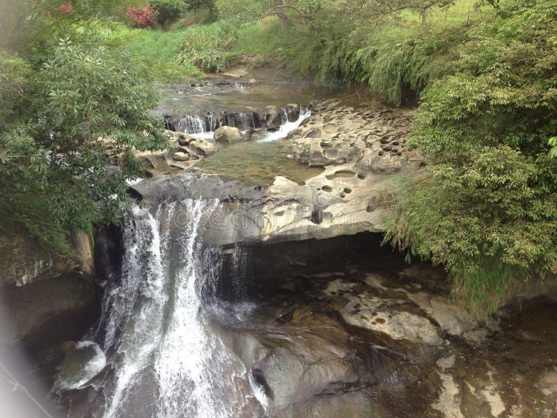 Taiwan waterfall stock image
