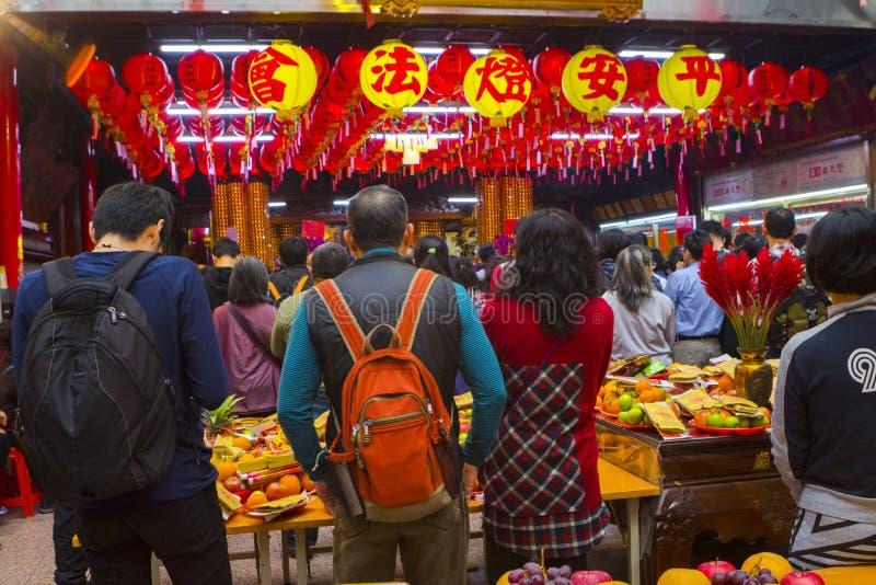 Taiwanese tradities, godsdienstige overtuigingen, Dafa-raden, goddelijk papiergeld, offerdienstenaanbod, royalty-vrije stock fotografie