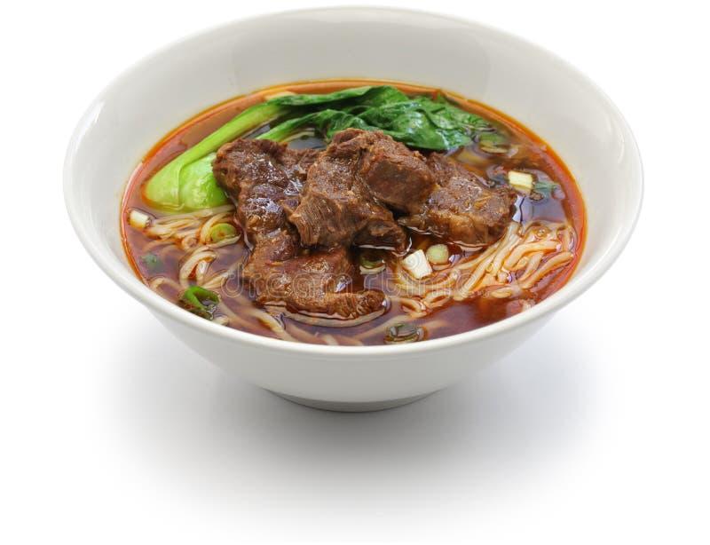 Taiwanesische Rindfleisch-Nudelsuppe lizenzfreies stockbild