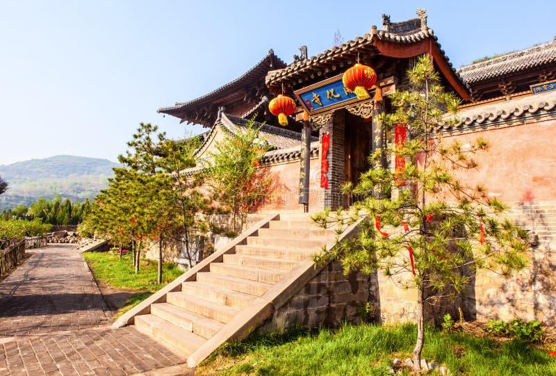 Taiyuan sceny świątyni sala fotografia royalty free