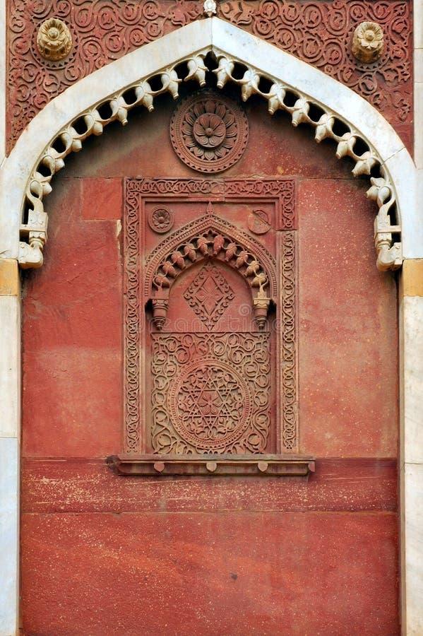 taj мечети agra Индии mahal стоковые фото