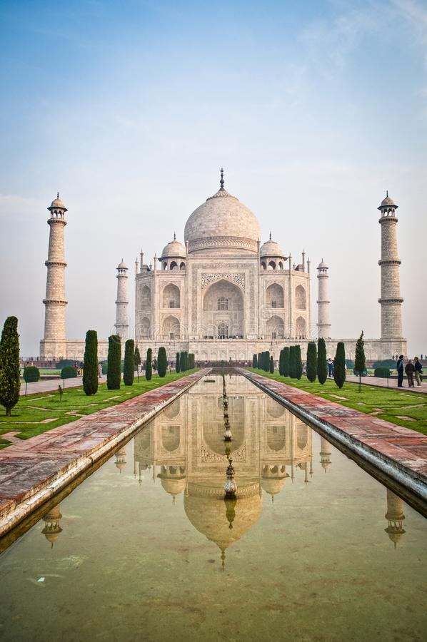 taj agra Индии mahal стоковые фото