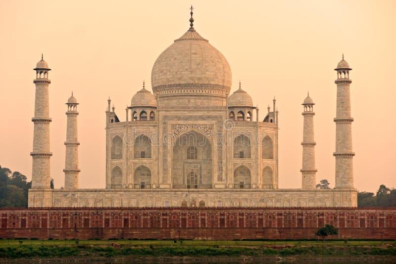 taj för agra india uttar mahal pradeshsoluppgång royaltyfri foto