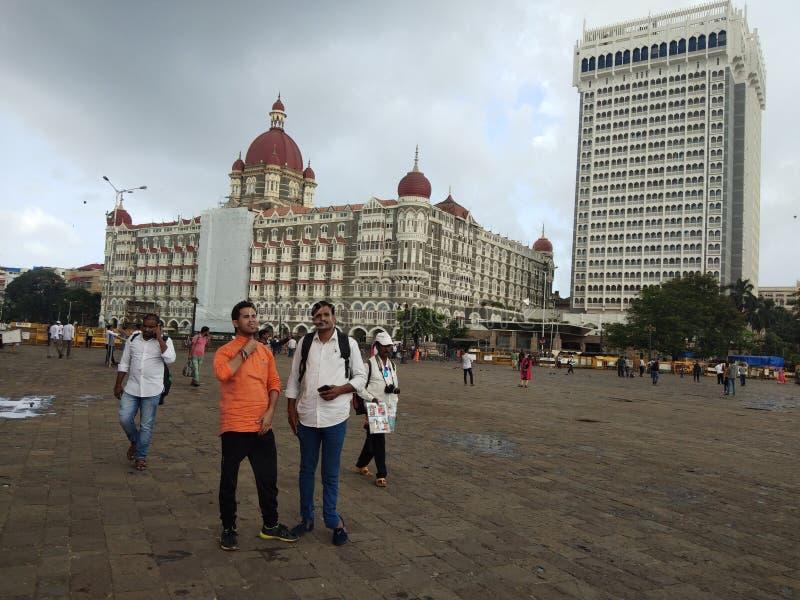 Taj Hotel dans Mumbai images libres de droits