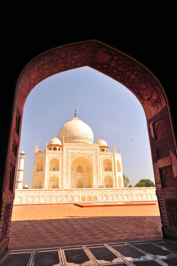 Taj Mahalï ¼ India stock foto's