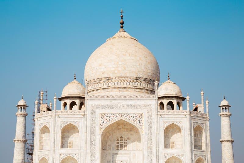 Taj Mahal à Agra, Inde photos libres de droits