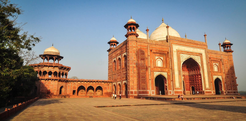 Taj Mahal à Agra, Inde image stock