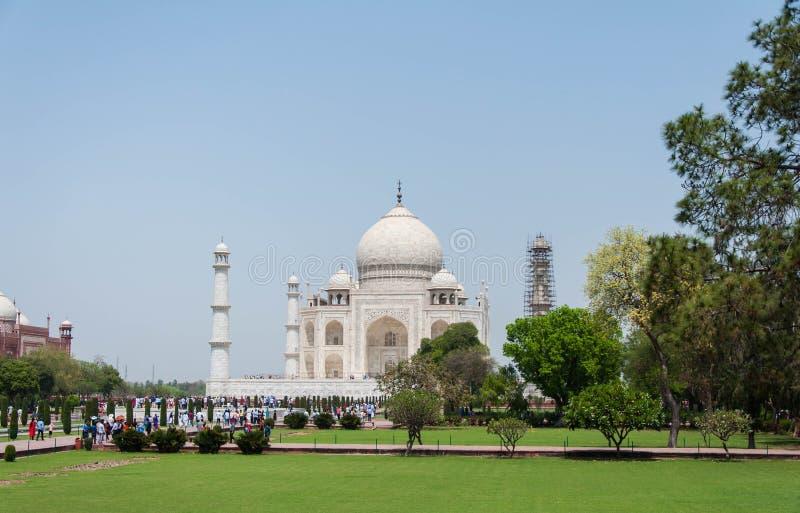 Taj Mahal, Índia foto de stock