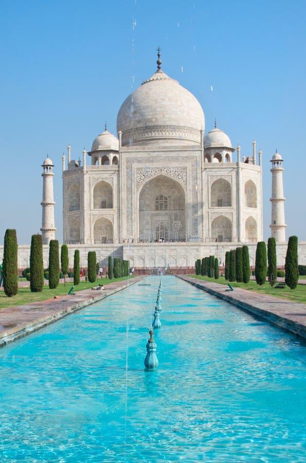 Taj Mahal в Agra, Индии стоковые фото