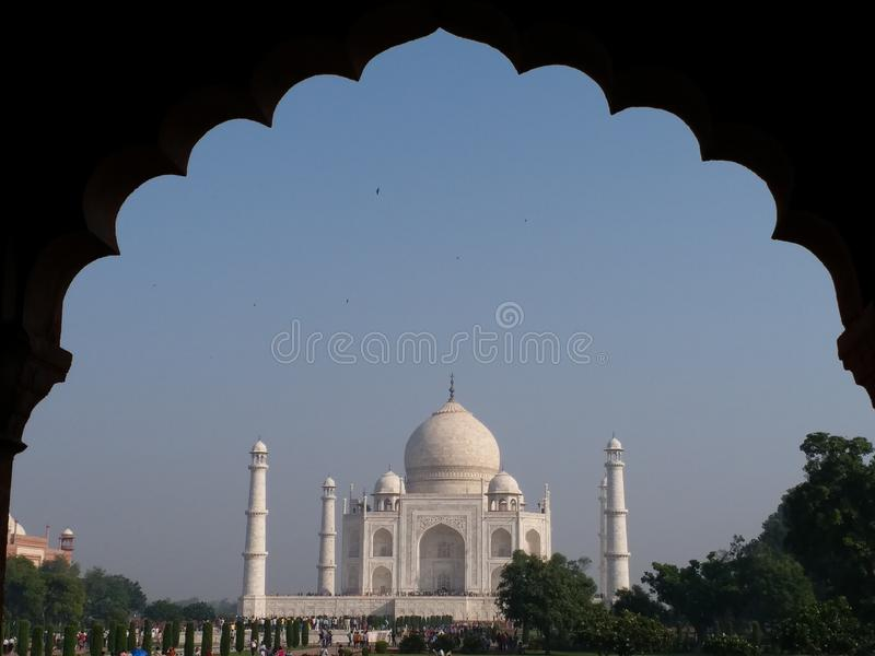 Taj Mahal foto de stock royalty free