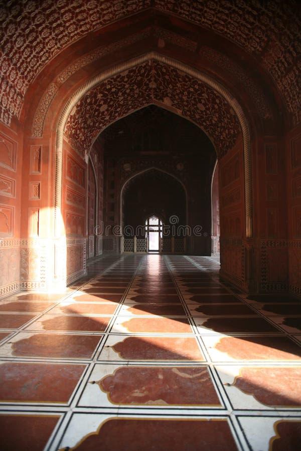 The Taj Mahal stock photography