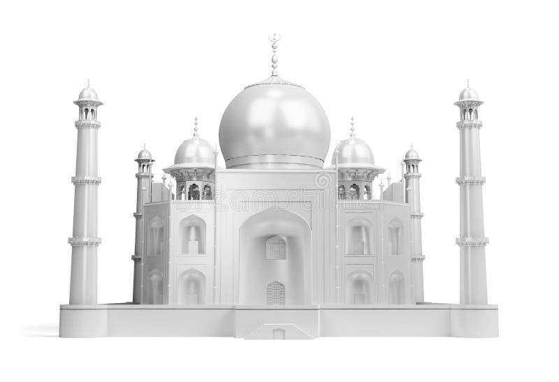 Taj Mahal lizenzfreie abbildung