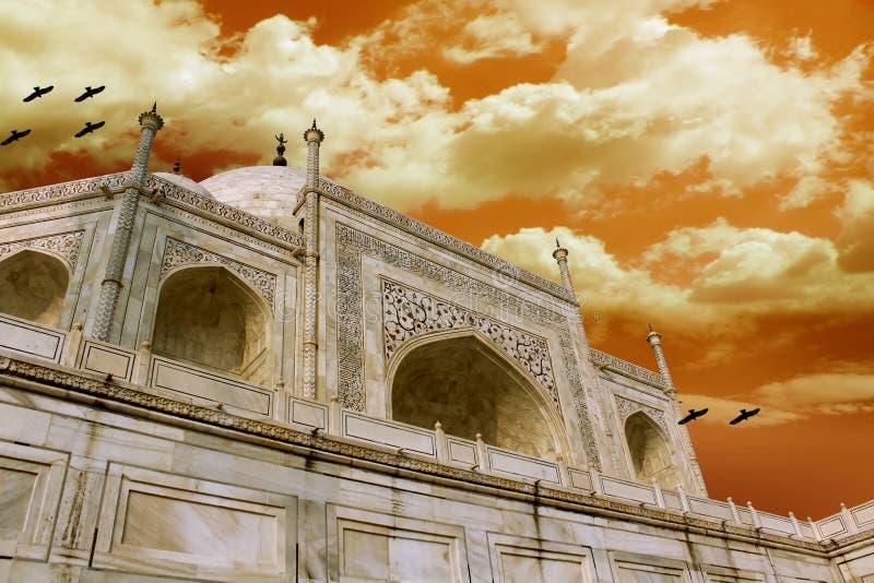 Download Taj Mahal stock photo. Image of indian, mumtaz, purple - 25787044