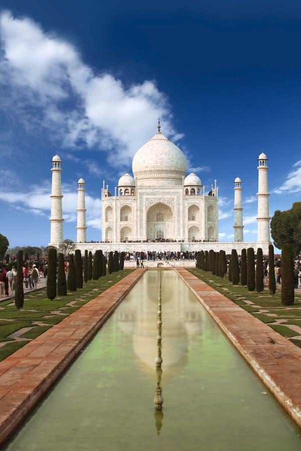 Taj Mahal. The Taj Mahal in Agra, India stock image