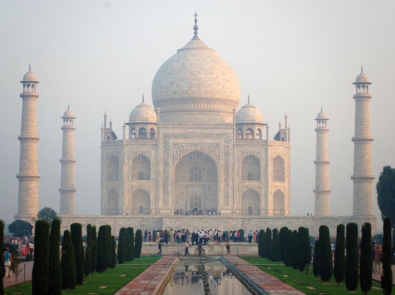 Taj Mahal lizenzfreies stockbild