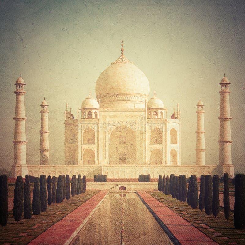 Taj Mahal royalty-vrije illustratie