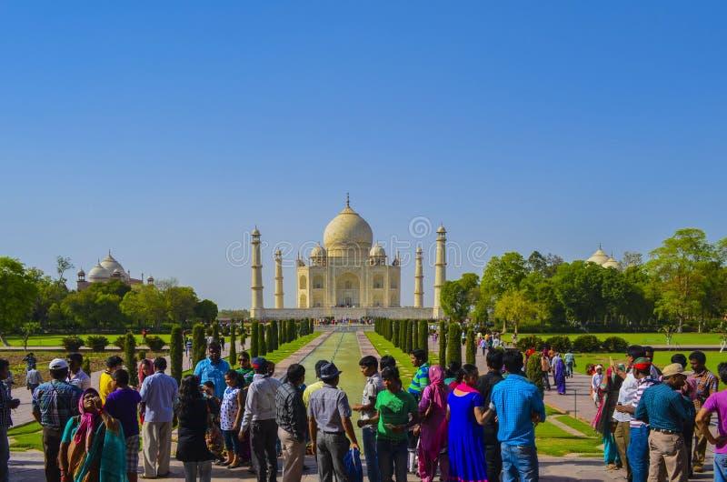 Taj Mahal royalty-vrije stock foto