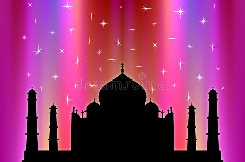 Taj Mahal ! illustration libre de droits