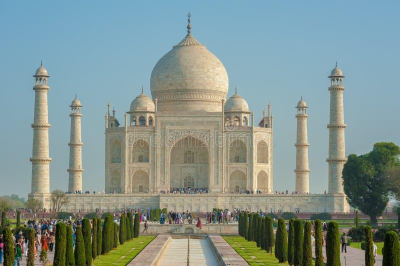 Taj Mahal royalty-vrije stock afbeelding