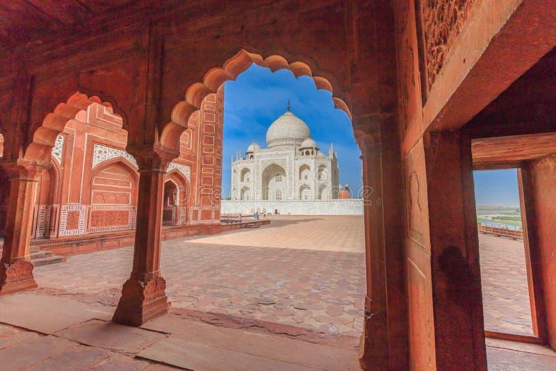 Taj Mahal stock fotografie