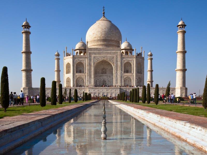 Taj Mahal In Agra Stock Photos
