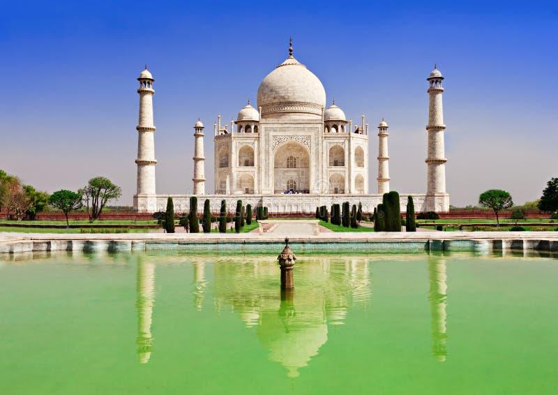 Taj Mahal, Agra stock afbeelding