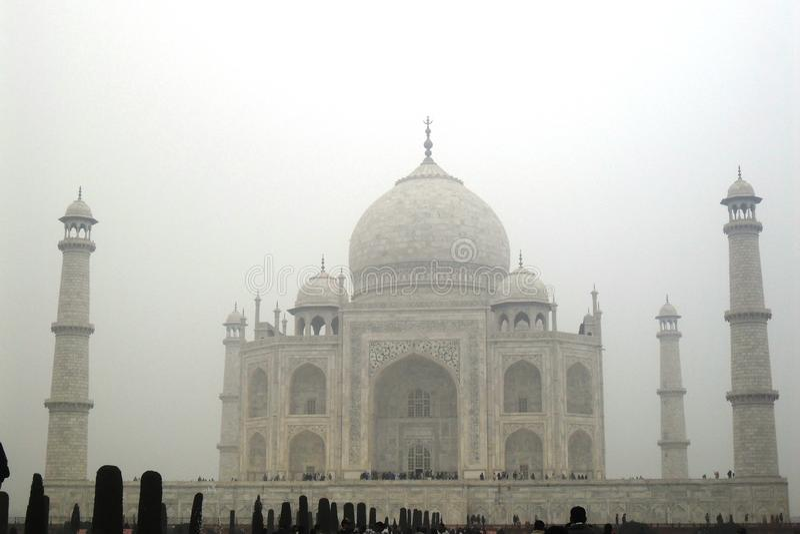 Taj Mahal Agra, Inde image libre de droits