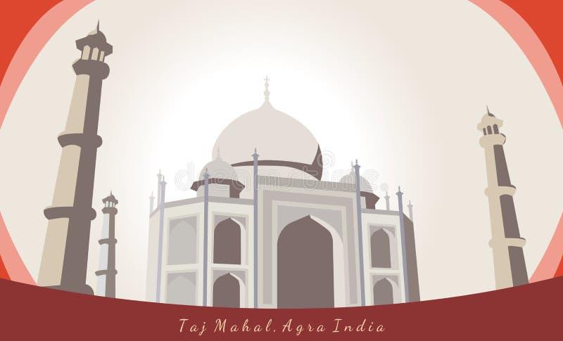 Taj Mahal, Agra, Inde photo libre de droits