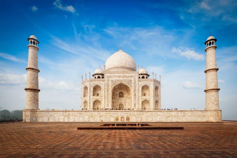 Taj Mahal, Agra, India foto de stock royalty free