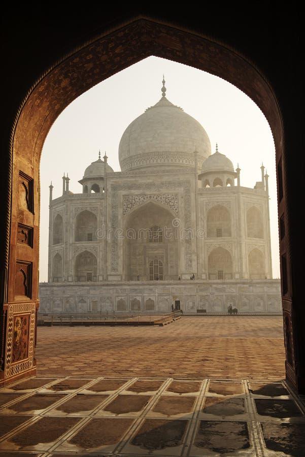 Taj Mahal - Agra, India fotografia stock libera da diritti