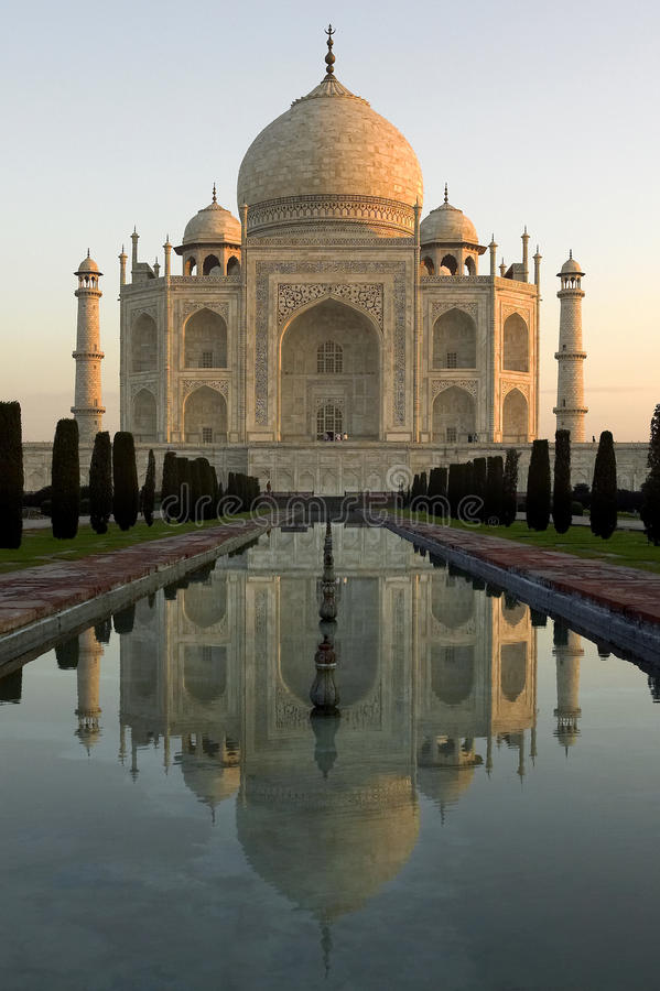 Taj Mahal - Agra - India Stock Photo