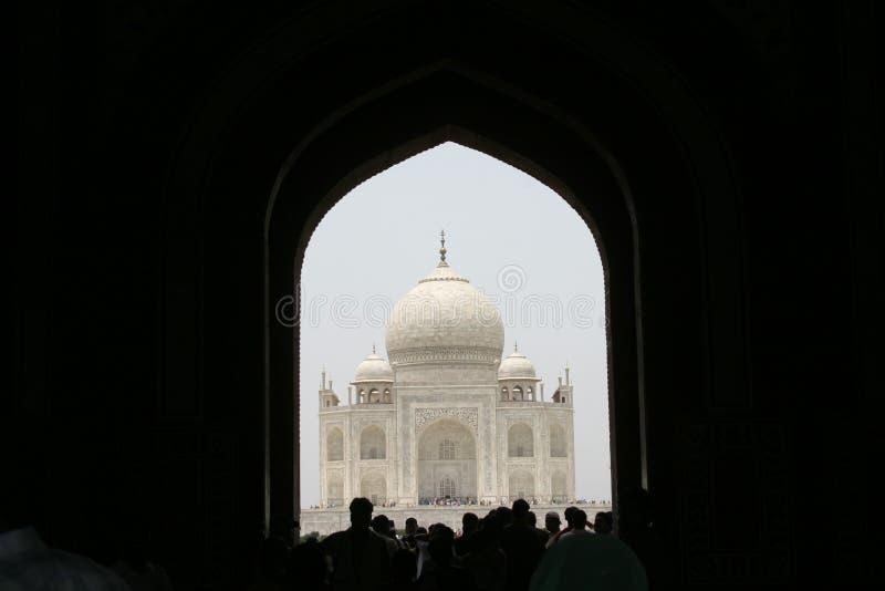 Taj Mahal, Agra, India royalty-vrije stock afbeeldingen
