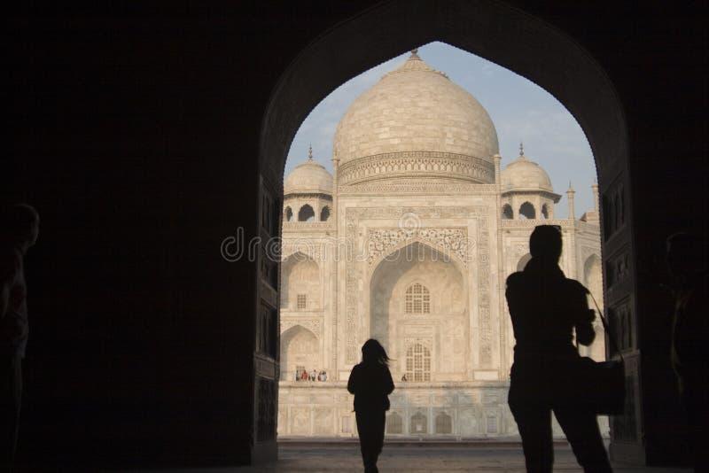 Taj Mahal, Agra, India royalty-vrije stock afbeelding