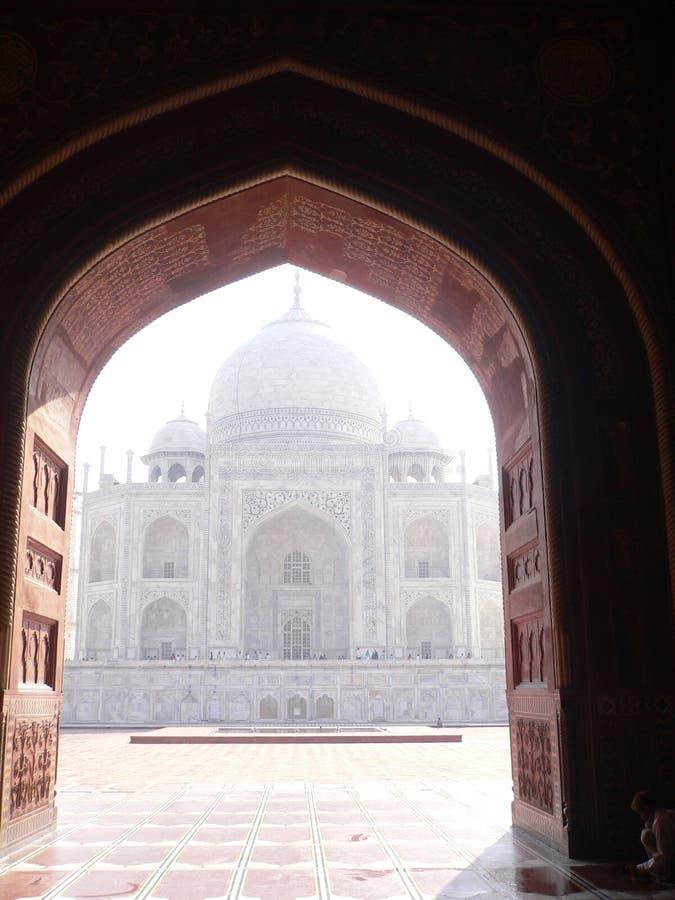Taj Mahal, Agra, India imagem de stock
