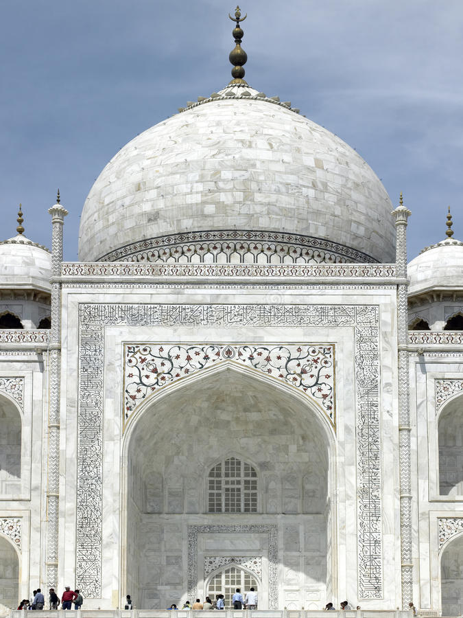 Download Taj Mahal - Agra - India editorial photography. Image of destination - 17680787
