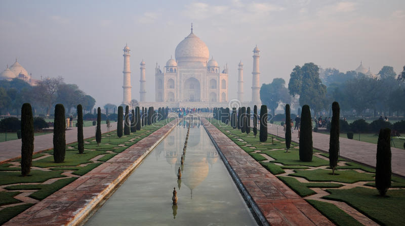Download The Taj Mahal Agra, India stock image. Image of asia - 21718837