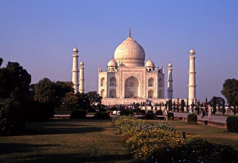 Taj Mahal, Agra, India. fotografia stock libera da diritti