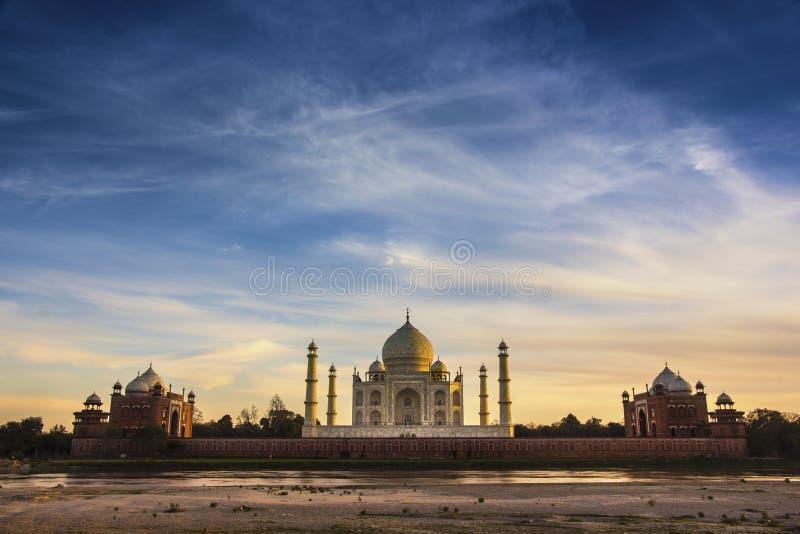 Taj Mahal, Agra, India stock foto