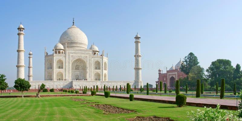 Taj Mahal in Agra, India stock foto's