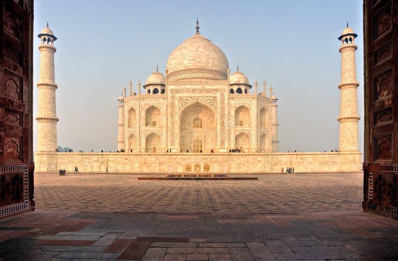 Taj mahal, Agra, India. royalty free stock image