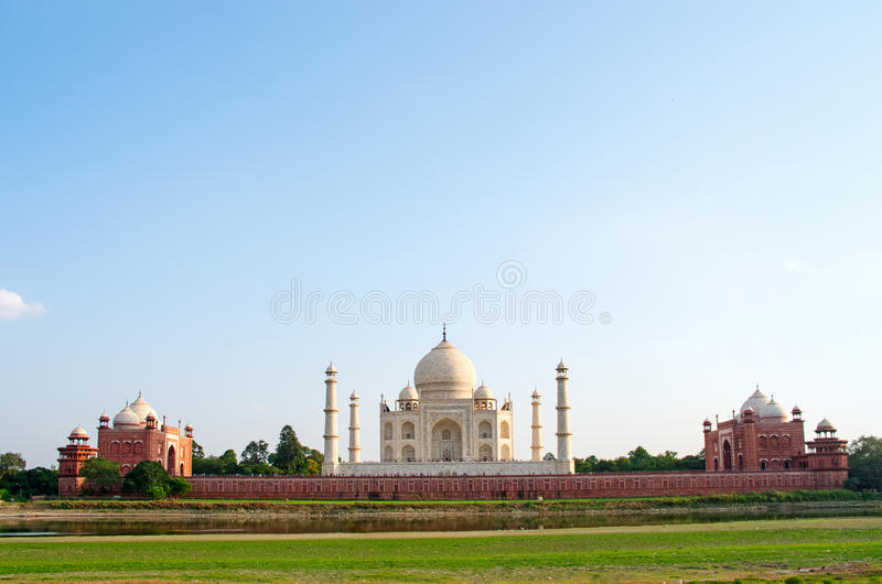 Taj Mahal a Agra, India immagine stock