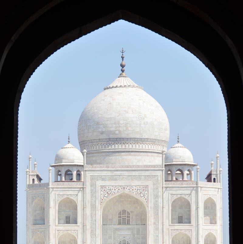 Taj Mahal Agra, India fotografia stock libera da diritti