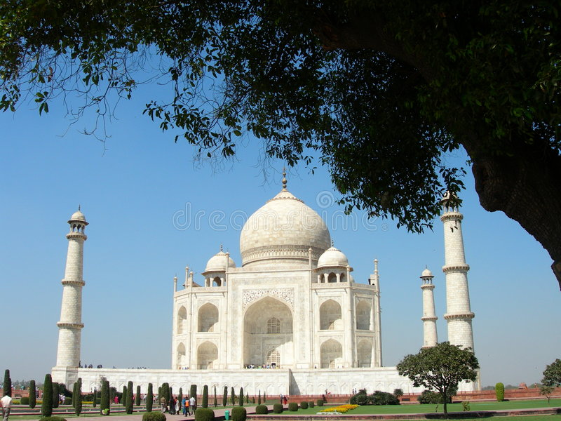 Taj Mahal, Agra, India foto de stock royalty free