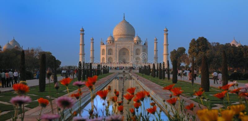 Taj Mahal - Agra, India fotos de stock