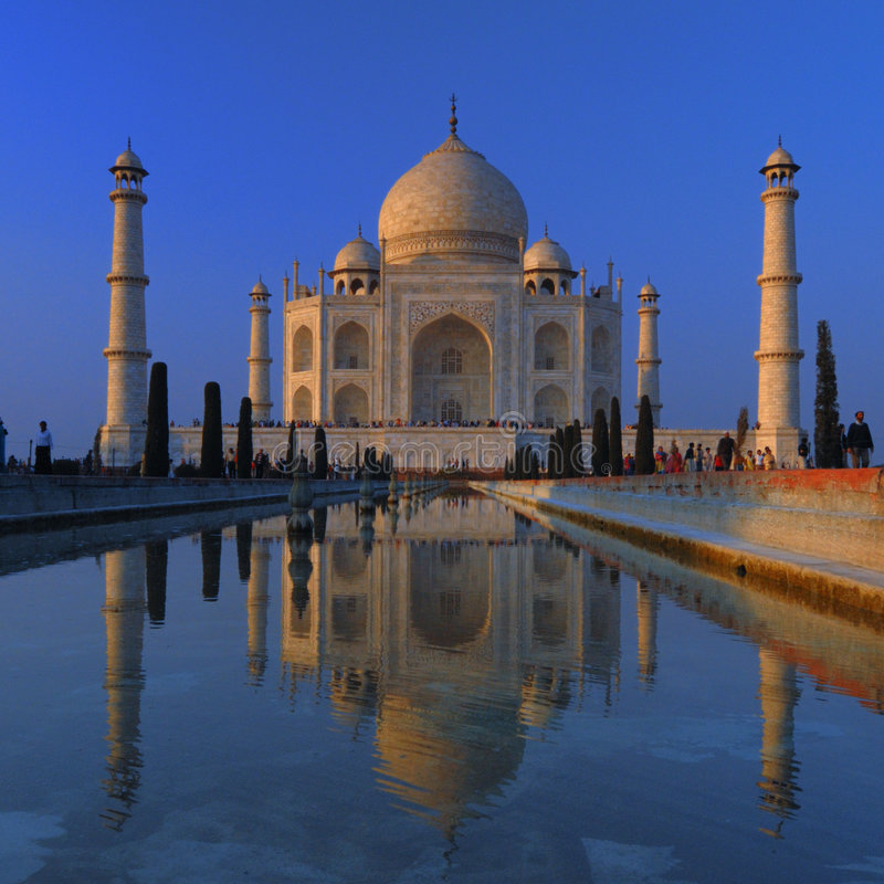 Download Taj Mahal - Agra, India stock image. Image of india, reflection - 5868725